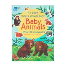 My RSPB Baby Animals sticker activity book product photo
