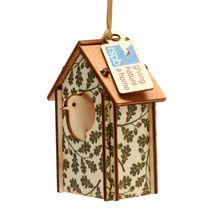 Nest box wooden tree decoration product photo