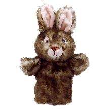 Wild rabbit hand puppet product photo