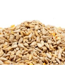 No-mess sunflower mix bird seed sacks (12.75kg x2) product photo