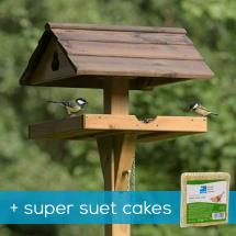 Adjus-table bird table & super suet cakes product photo