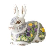 Royal Crown Derby, Springtime bunny product photo