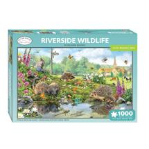 Riverside wildlife 1000 piece jigsaw product photo