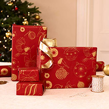 Robin recyclable wrapping paper product photo