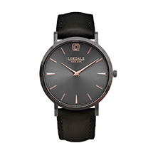 Robin watch - vintage black strap product photo