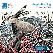 RSPB Angela Harding calendar 2020 product photo