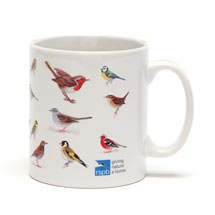 RSPB Garden birds mug product photo