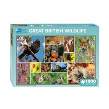 RSPB British wildlife jigsaw product photo