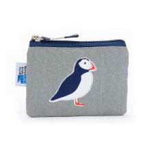 RSPB Coastal birds puffin coin purse product photo