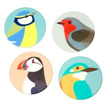RSPB Free as a bird coasters product photo