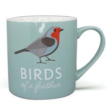 RSPB Free as a bird robin mug product photo