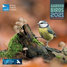 RSPB Garden birds calendar 2021 product photo