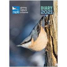 RSPB Inspiring nature diary 2021 product photo