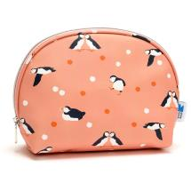 RSPB Puffins cosmetics bag product photo