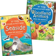 RSPB Sticker and activity books - double pack product photo