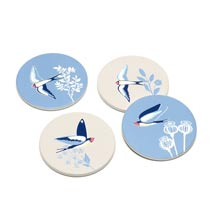 RSPB Swallows coasters product photo