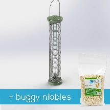 RSPB Ultimate nut & nibble feeder + buggy nibbles, medium product photo