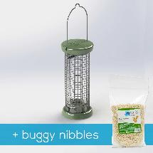RSPB Ultimate nut & nibble feeder + buggy nibbles, small product photo