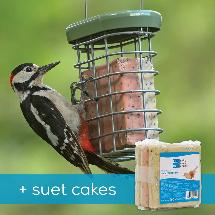 RSPB Ultimate suet feeder + Super suet cakes x3 offer product photo