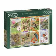 Seasonal garden birds jigsaw product photo