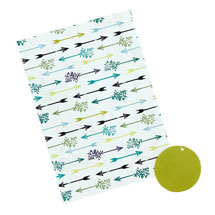 Sherwood recyclable gift wrap and tags product photo