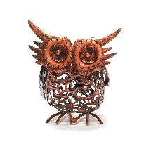 Owl solar light product photo