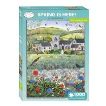 Spring is here 1000 piece jigsaw product photo