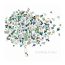 Thinking of you card product photo