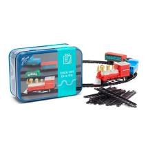 Train set in a tin product photo