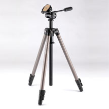 Velbon Sherpa 200 tripod with one-touch panhead product photo