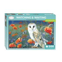 Watching waiting 500 piece jigsaw product photo