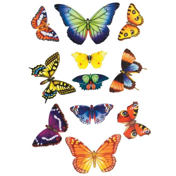 Butterfly window stickers product photo Default L
