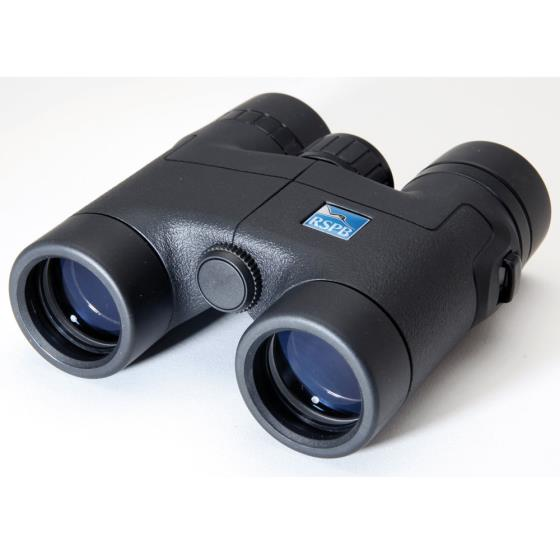 RSPB Puffin® 8 x 32 binoculars product photo Front View - additional image 1 L