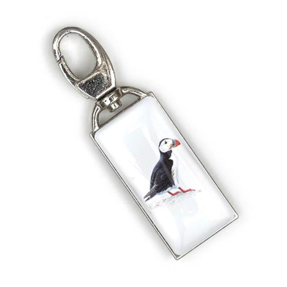Zip Buddy, RSPB puffin product photo Front View - additional image 1 L