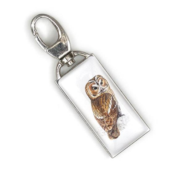Zip Buddy, RSPB tawny owl product photo Front View - additional image 1 L