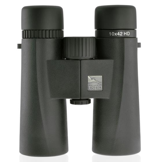 RSPB HD binoculars 10 x 42 product photo Front View - additional image 1 L