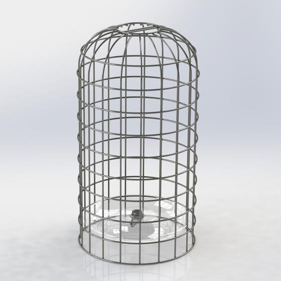 RSPB Ultimate bird feeder guardian, medium product photo Front View - additional image 1 L