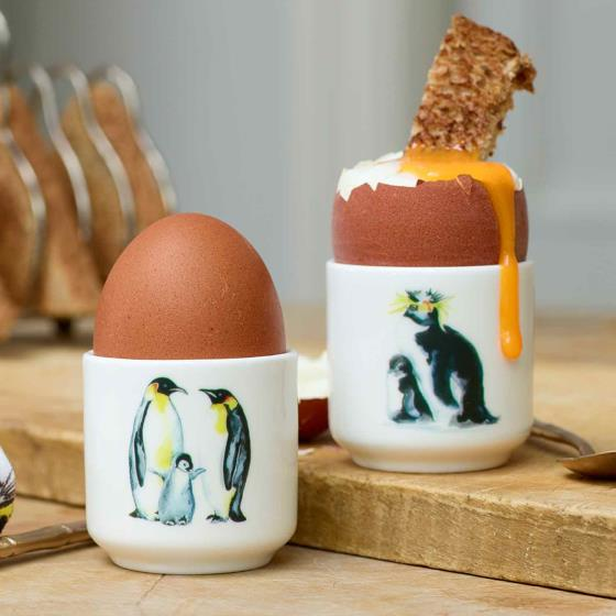 Penguin egg cup set - Mugs & cups - save nature while you shop