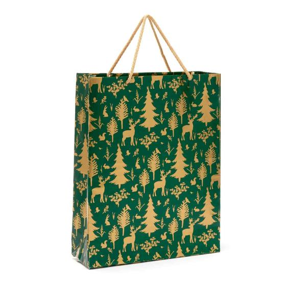 Woodland large gift bag product photo Default L