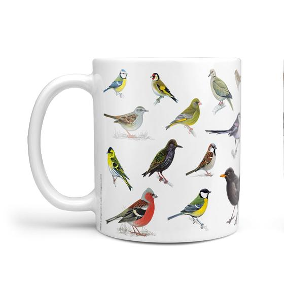 Big Garden Birdwatch mug product photo Side View -  - additional image 3 L