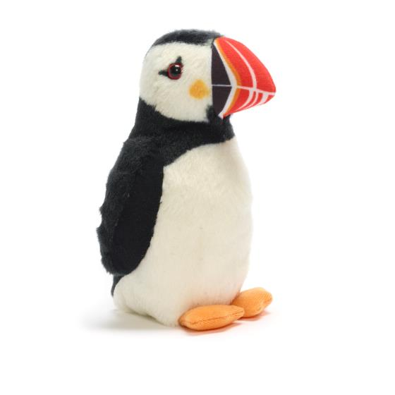 RSPB soft toy singing puffin product photo Default L