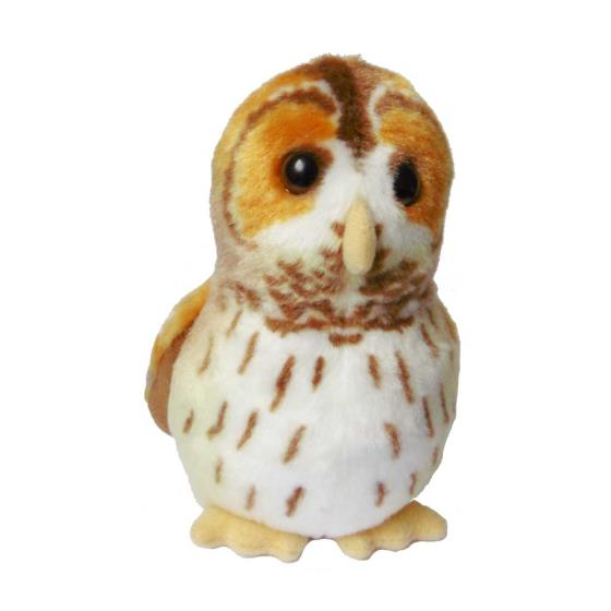 RSPB soft toy singing tawny owl product photo Default L