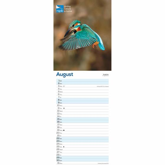 RSPB Birds calendar 2020 product photo Side View -  - additional image 3 L