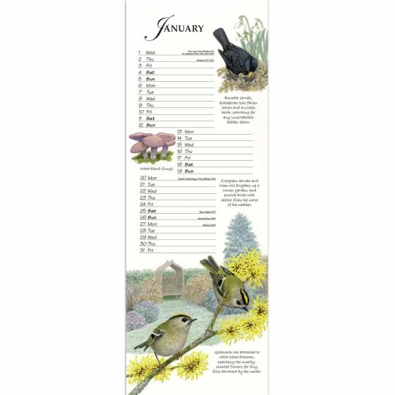 RSPB Friends and Neighbours calendar 2020 product photo Side View -  - additional image 3 L