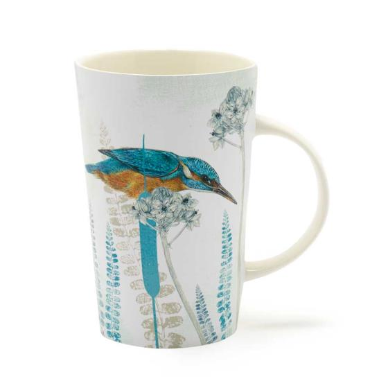RSPB Kingfisher latte mug product photo Default L
