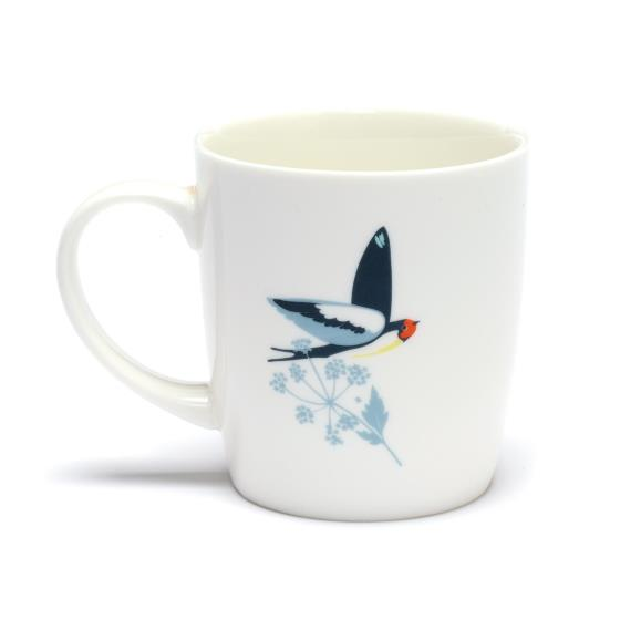 RSPB Swallows mug product photo Side View -  - additional image 3 L