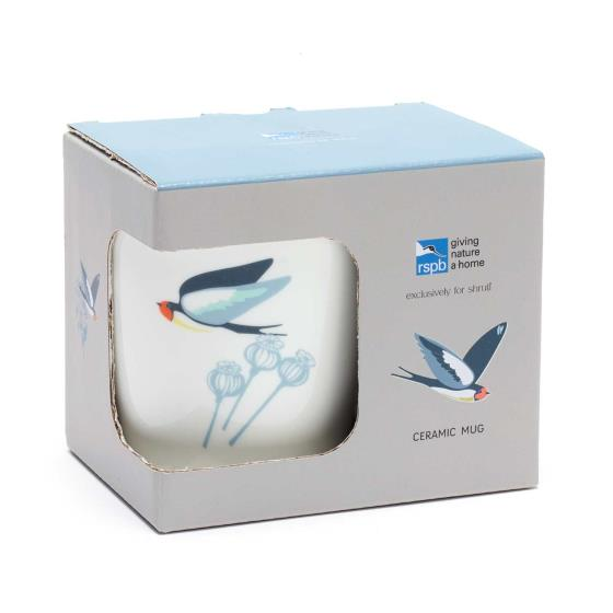RSPB Swallows mug product photo Back View -  - additional image 2 L