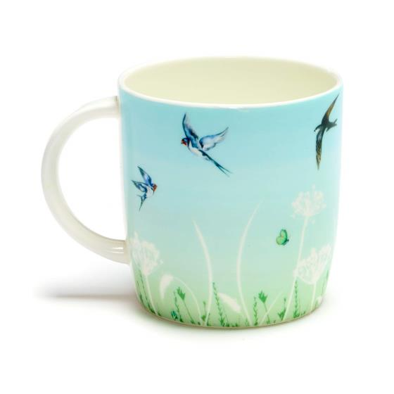 Summer haze mug green product photo Side View -  - additional image 3 L