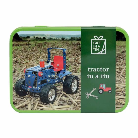 Tractor in a tin product photo