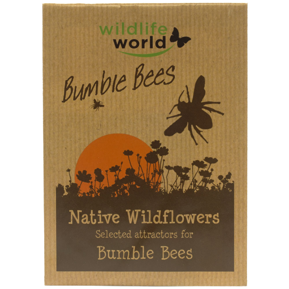 Bumblebee attractor seed pack product photo